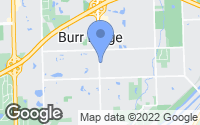Map of Burr Ridge, IL